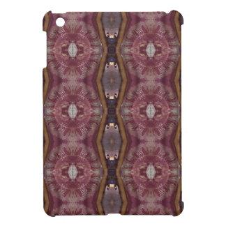 Chic Burgundy Rose Modern Tribal Pattern Case For The iPad Mini