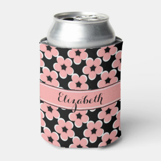 CHIC CAN COOLER_MODERN 04 BLUSH PINK/BLACK/WHITE CAN COOLER