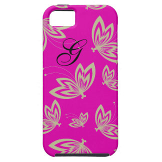 CHIC_CASE MATE IPHONE 5_VIBE_MOD BUTTERFLIES 186 iPhone 5 CASE