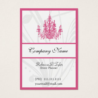 Chic Chandelier Business Cards