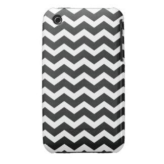 Chic Chevron iPhone Case Black & White Case-Mate iPhone 3 Cases