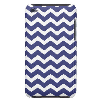 Chic Chevron iPod Touch Case Navy and White