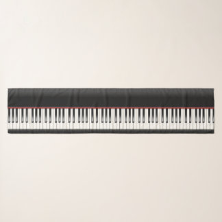 Chic Chiffon Piano Scarf