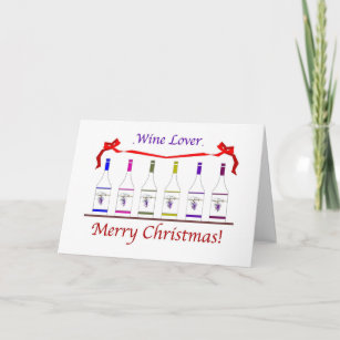 chic christmas cardnote holiday card