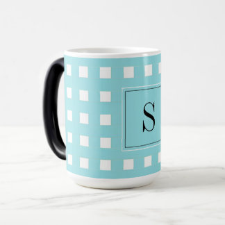 CHIC COFFEE MUG_GIRLY PANTONE 2017 GINGHAM MAGIC MUG