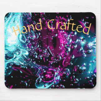 Chic Colorful Blown Glass Mouse Pad
