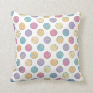 Chic Colorful dots modern urban teenage pillow Cushions