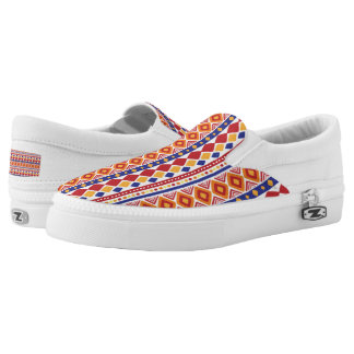 Chic colorful Ethno Pattern Printed Shoes
