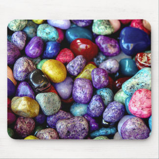 Chic Colorful Stones Mouse Pad