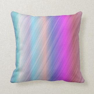 Chic colourful cushion