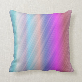 Chic colourful throw pillow
