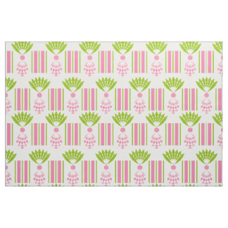 CHIC CUSTOM FABRIC_MOD TROPICAL PINK PINEAPPLES FABRIC