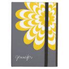 Chic Daisy iPad Air Case - Yellow/Grey