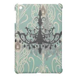 Chic  Damask Chandelier Bridal Shower Gifts iPad Mini Case