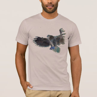 chic eagle hawk swooping action t-shirt design
