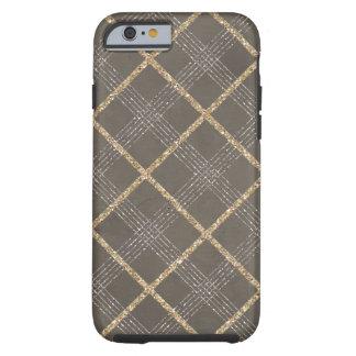 Chic Elegant Stylish Argyle Tartan Plaid Pattern Tough iPhone 6 Case