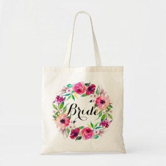 Chic Floral Wreath Bride-5