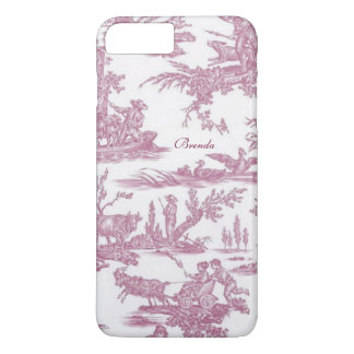 Chic French Toiles Custom iPhone 7 Plus Case