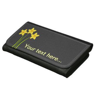 Chic Gardener Daffodils Wallet