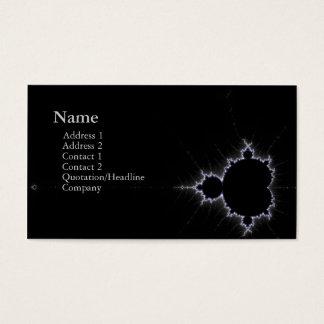 chic geek fractal business card v2
