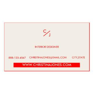 ★ Chic Geometrical Impressive Business Card ★