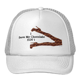 Chic Girly Funny Hot Chocolate / House-of-Grosch Cap