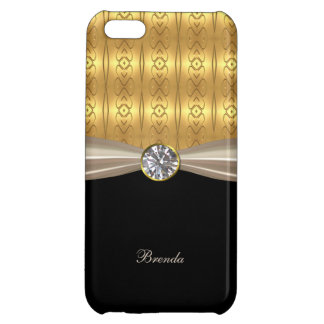 Chic Gold and Diamond iPhone 5C Case