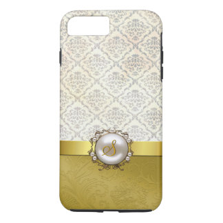 Chic Gold & Antique Damask iPhone 7 Plus case
