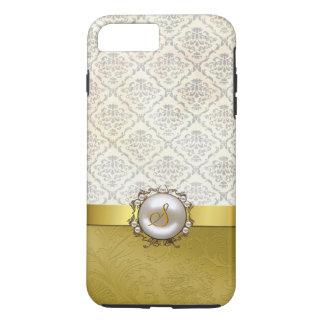 Chic Gold & Antique Damask iPhone 7 Plus case