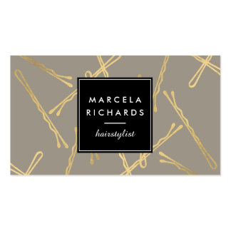 Hairdressing Business Cards