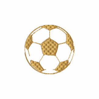 Chic Gold Embroidered US Soccer club T-shirt