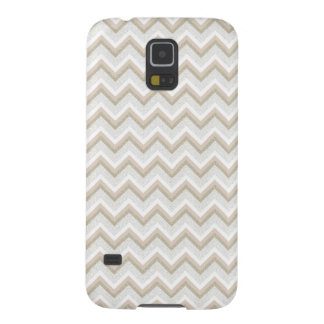 Chic Gold Glitter Chevron Samsung Galaxy S5 Case