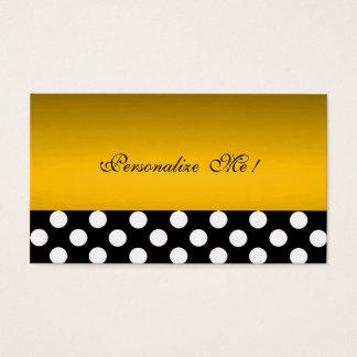 Chic Gold Modern Elegant Polka Dots Save-the-Date