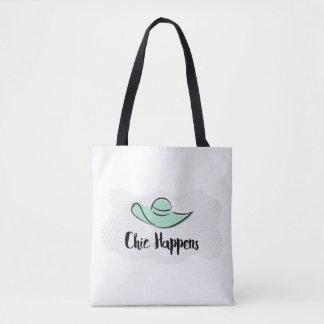 Chic Happens Tote Bag
