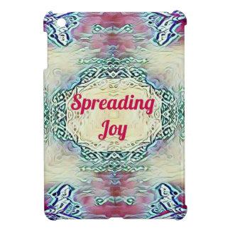 Chic Holiday Season Burgundy Spreading Joy iPad Mini Case