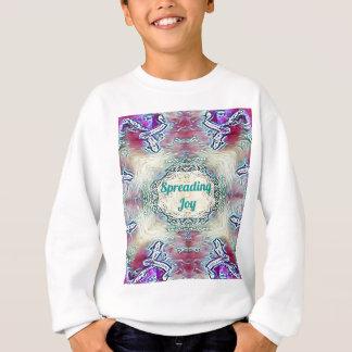Chic Holiday Season Green 'Spreading Joy' Sweatshirt