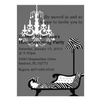 Chic Housewarming invitation