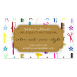 Chic Hues Multicolor Hair Beauty Appointment Card