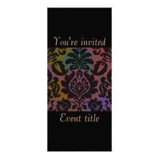 Chic invitation custom rack card