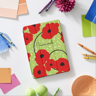 CHIC IPAD PRO COVER_MOD 12 RED POPPIES