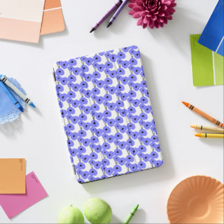 CHIC IPAD PRO COVER_MOD 171 PERIWINKLE POPPIES iPad PRO COVER