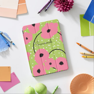 CHIC IPAD PRO COVER_MOD 241 PINK POPPIES