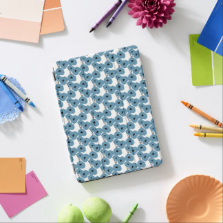 CHIC IPAD PRO COVER_MOD NIAGARA BLUE POPPIES iPad PRO COVER