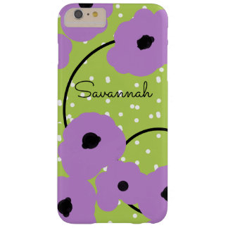CHIC IPHONE 6 CASE_MOD LAVENDER POPPIES BARELY THERE iPhone 6 PLUS CASE