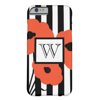 CHIC IPHONE 6 CASE_MOD ORANGE POPPIES BARELY THERE iPhone 6 CASE