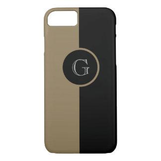 CHIC iPhone 7 CASE_CAMEL/BLACK iPhone 7 Case