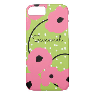 CHIC IPHONE 7 CASE_MOD 241  PINK POPPIES iPhone 8/7 CASE