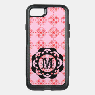 Chic iPhone Case Monogram PINK SMALL