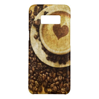 Chic Java cappuccino Coffee Beans Coffee Lover Case-Mate Samsung Galaxy S8 Case