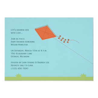 Chic Kite Baby Shower Card